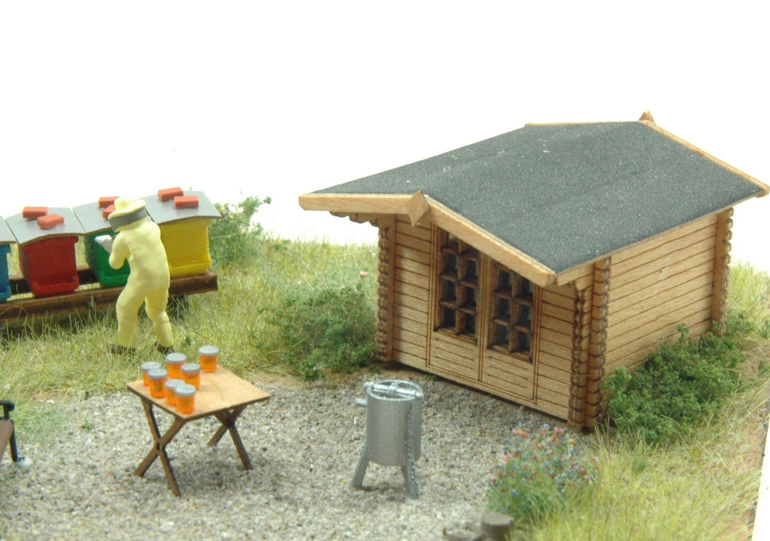 Mobaart 100100 Gartenhaus Holland Spur H0 Te Miniatur
