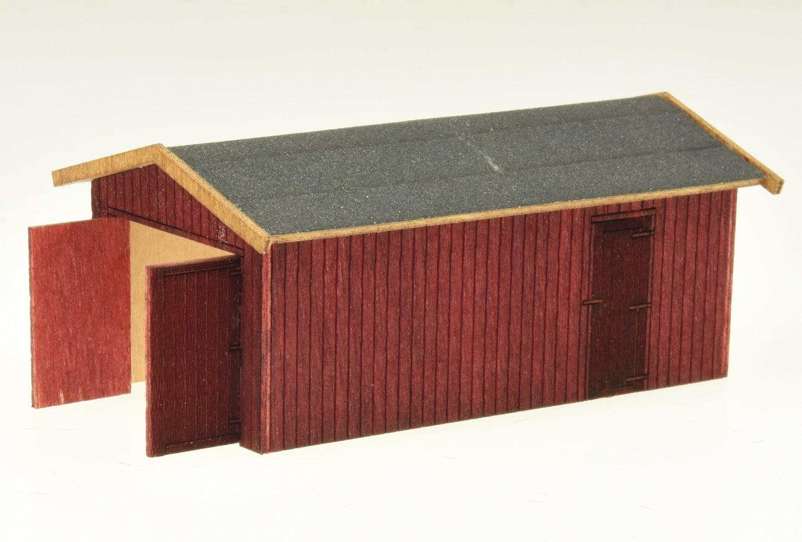 MobaArt 100102 Lasercut-Bausatz Garage H0