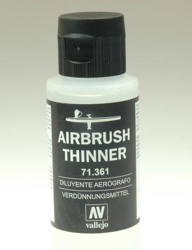 Vallejo 71361 Airbrush Verdünner, 60 ml