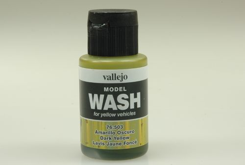 Vallejo 76503 Wash-Colour, Dunkel-Gelb, 35 ml