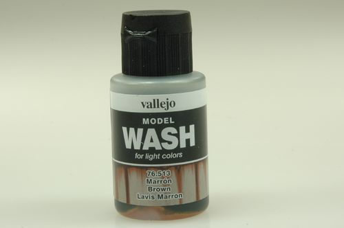 Vallejo 76513 Wash-Colour, Braun, 35 ml