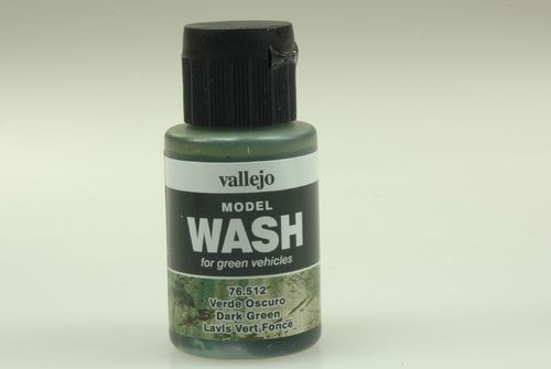 Vallejo 76512 Wash-Colour, Dunkelgrün, 35 ml