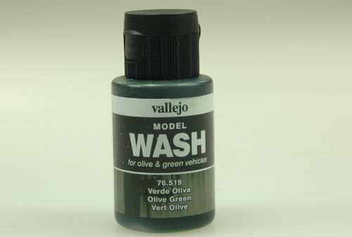 Vallejo 76519 Wash-Colour, Olivgrün, 35 ml