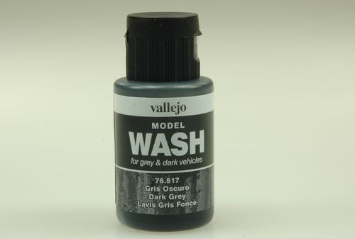 Vallejo 76517 Wash-Colour, Dunkelgrau, 35 ml