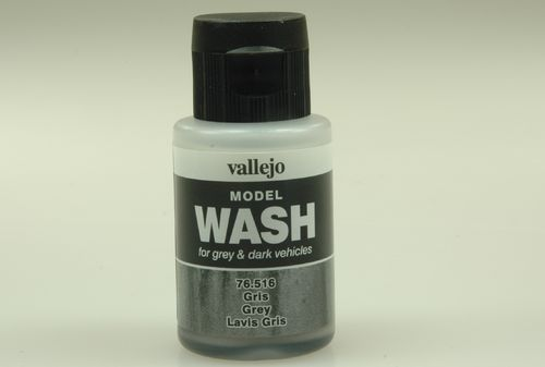 Vallejo 76516 Wash-Colour, Grau, 35 ml