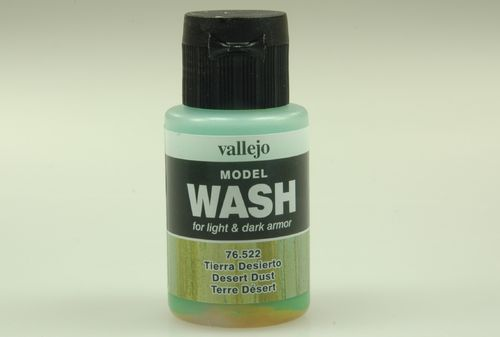 Vallejo 76522 Wash-Colour, Wüstenstaub, 35 ml