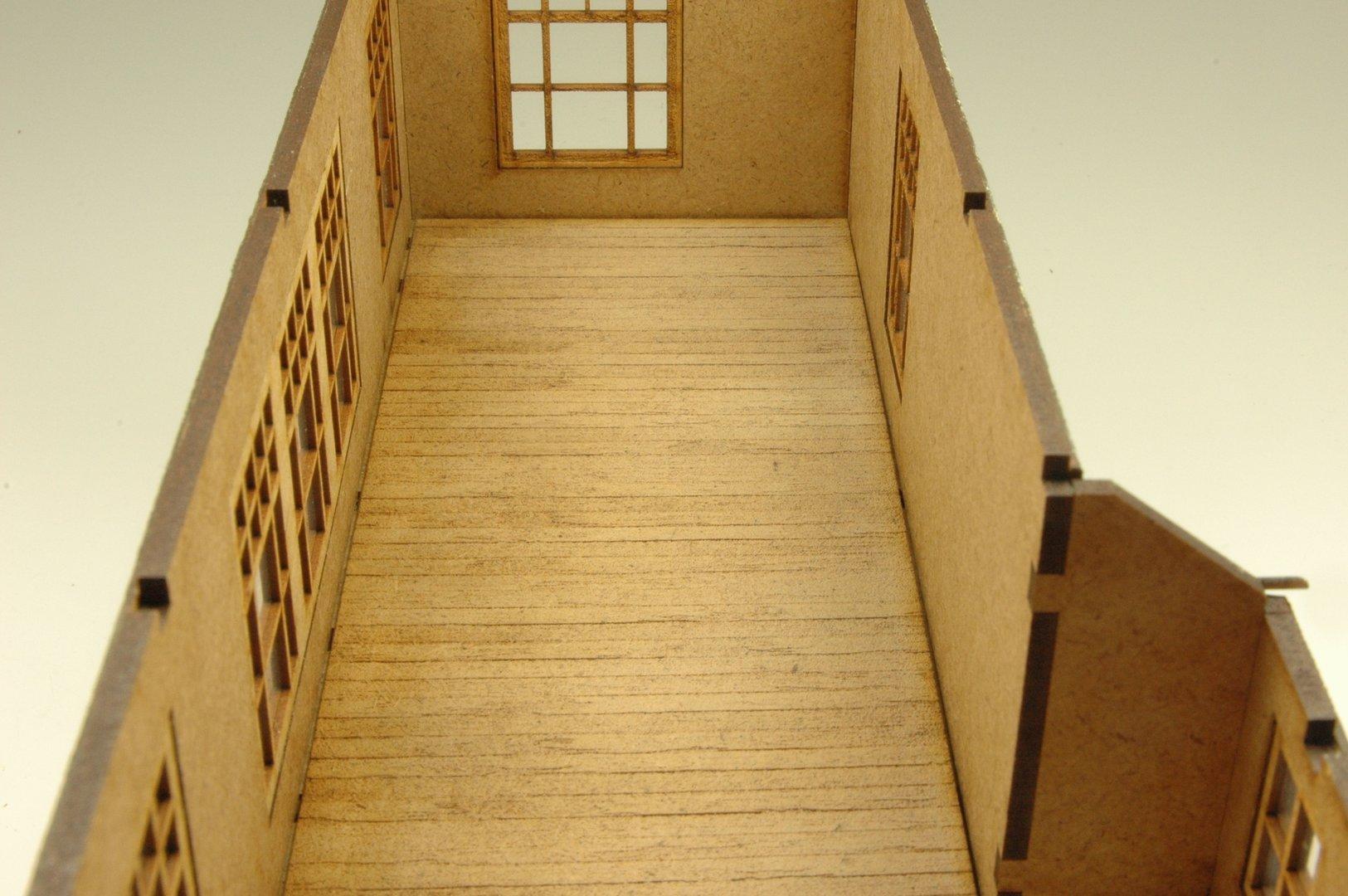 holzdielenboden f r stellwerk. Black Bedroom Furniture Sets. Home Design Ideas